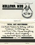 Ben Vautier - Total Art Matchbook (1)