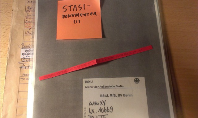 From the Stasi Archives